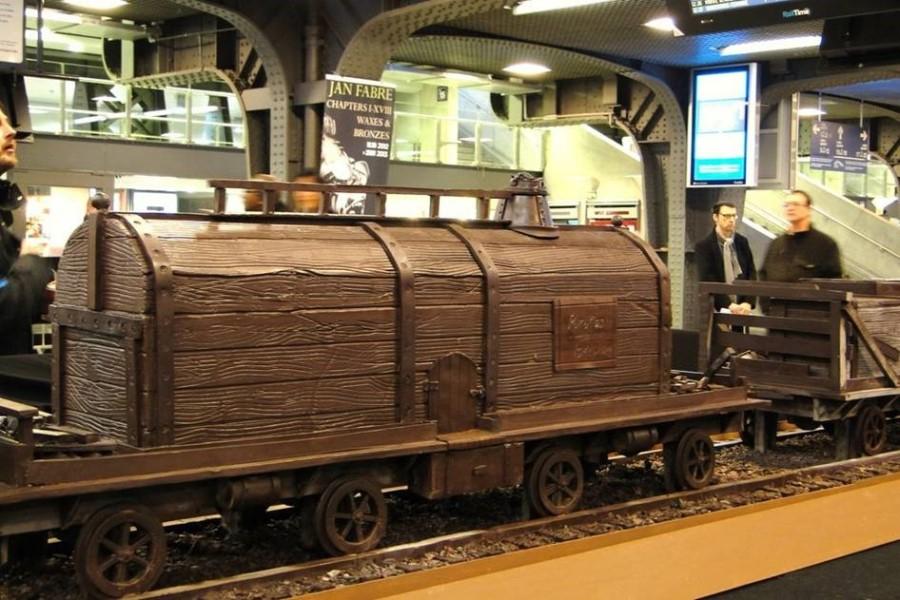 Фото шоколадных поезд негритосок #15
