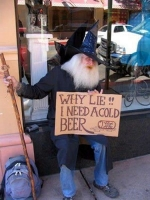 Beggar Signs 13
