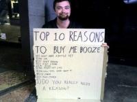 Beggar Signs 15