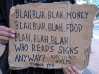Beggar Signs 17