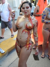 Body Painted 06