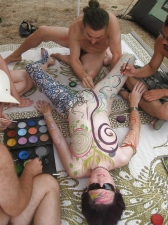 Body Painted 08