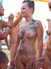 Body Painted 13