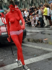 Body Painted 15