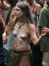 Body Painted 22