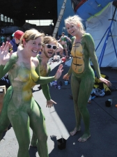 Body Painted 27