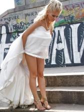 Bride Upskirts 10