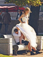 Bride Upskirts 25