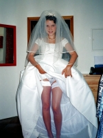 Bride upskirt pictures