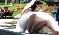 Bride Upskirts