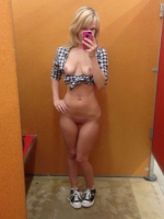 Changing Room Selfies 23