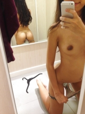 Changing Room Selfies 04