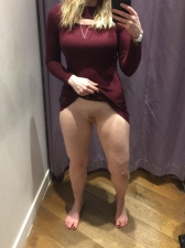 Changing Room Selfies 06