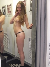 Changing Room Selfies 07
