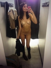 Changing Room Selfies 19