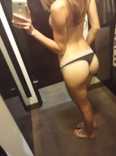 Changing Room Selfies 36