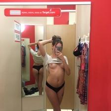 Changing Room Selfies 02