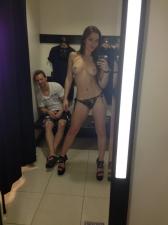Changing Room Selfies 07