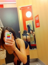 Changing Room Selfies 34