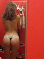 Changing Room Selfies 09