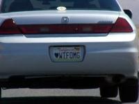Custom License Plates 07