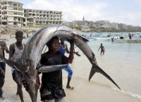 Fisherman In Somalia 07