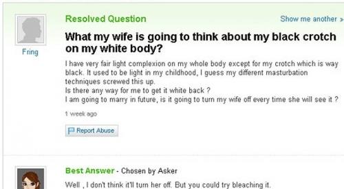 Funny Yahoo Answers 05