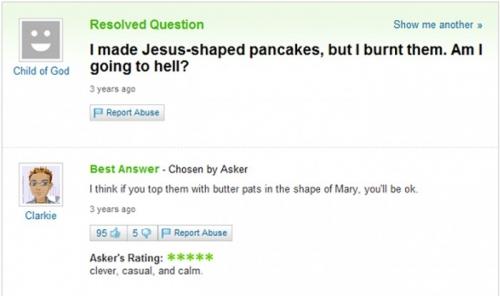 Funny Yahoo Answers 08