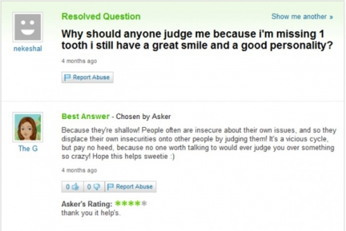 Funny Yahoo Answers 18