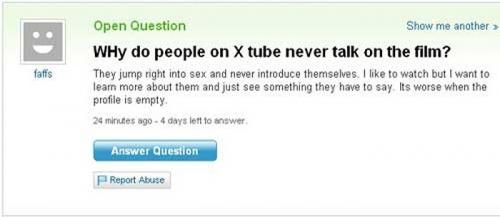 Funny Yahoo Answers 27