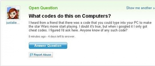 Funny Yahoo Answers 34