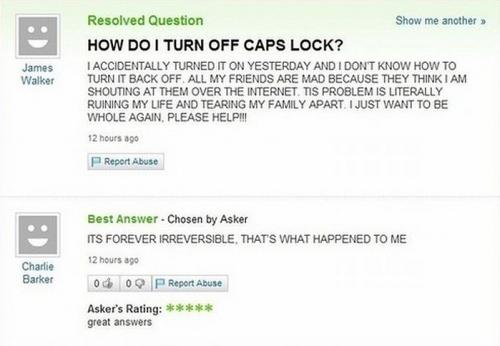 Funny Yahoo Answers 43