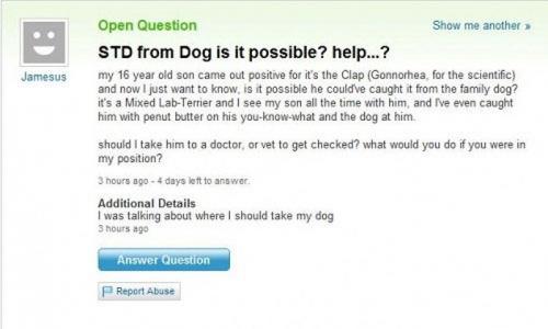 Funny Yahoo Answers 47