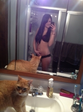 Girls And Cats 05
