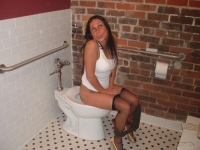 Girls Caught Sitting On The Loo 03