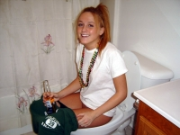 Girls Caught Sitting On The Loo 06