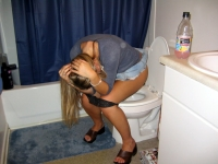 Girls Caught Sitting On The Loo 11