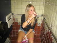 Girls Caught Sitting On The Loo 25
