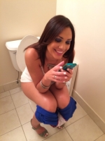 Girls Caught Sitting On The Loo 29