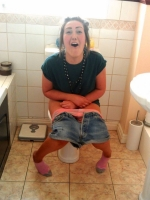 Girls Caught Sitting On The Loo 31