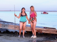 Girls Fishing 26