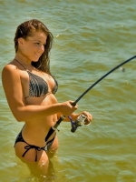 Girls Fishing 07