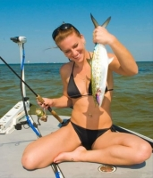 Girls Fishing 22