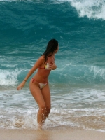 Girls Frolicking In The Surf 14