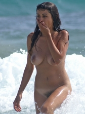 Girls Frolicking In The Surf 25