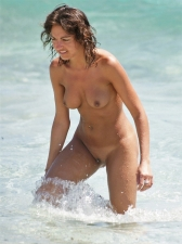 Girls Frolicking In The Surf 27