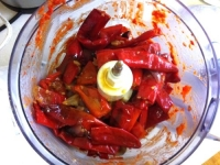 Making Chilli Sauce