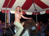 Mechanical Bull Flashing 06