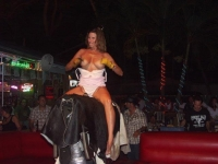 Mechanical Bull Flashing 08