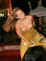 Mechanical Bull Flashing 09